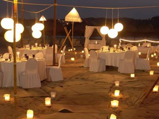 Decorar boda con velas - Decoracion con velas ...